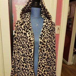 Dress barn leopard print jacket